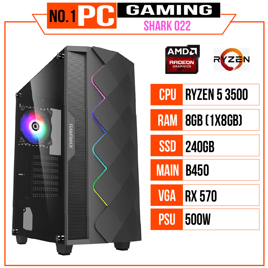 PC GAMING SHARK 022