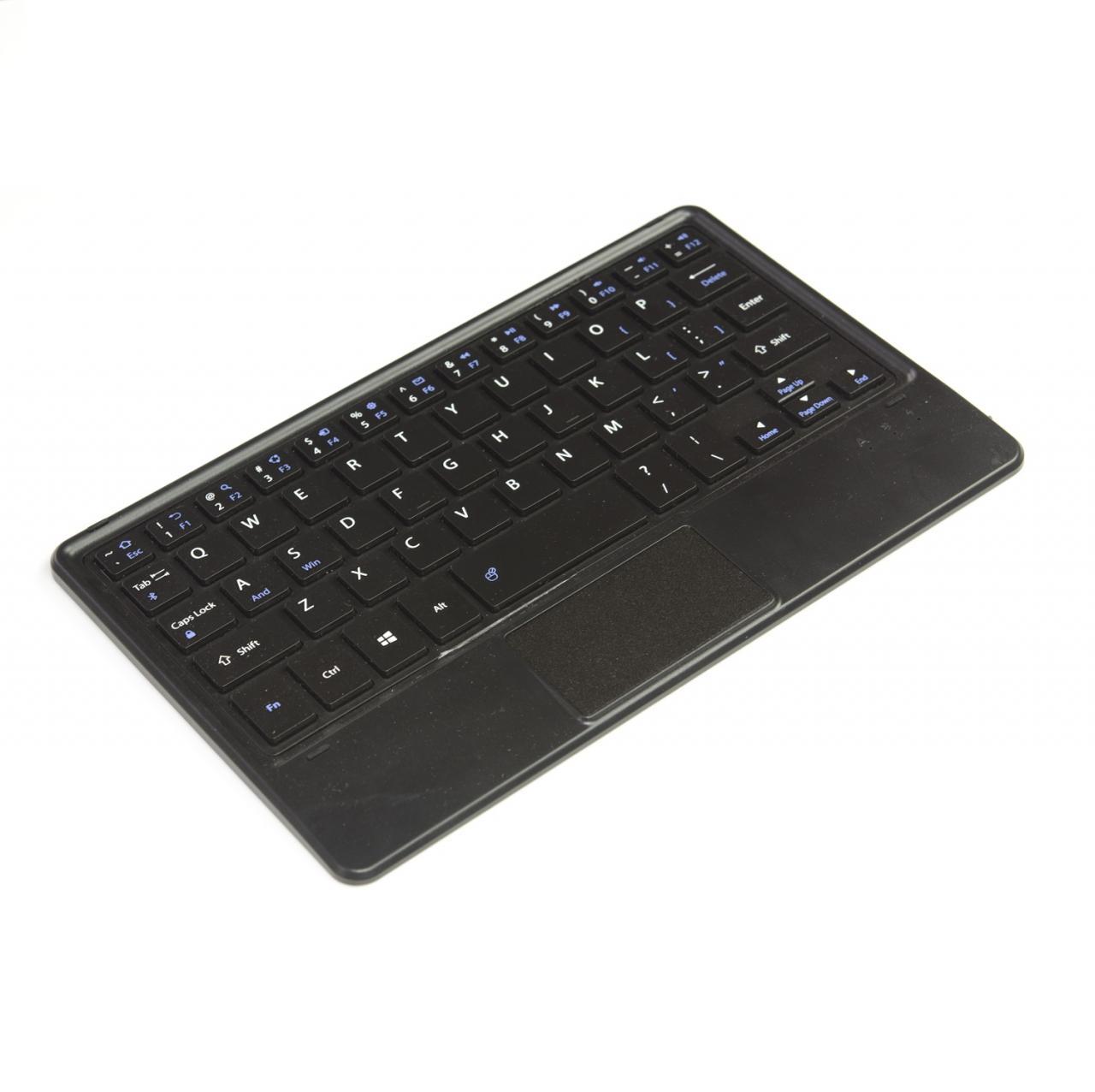 Bàn Phím Nhôm không dây Bluetooth và có Touch Pad